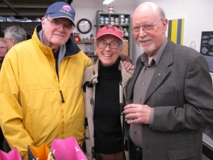 Bill & Barbara Crutchfield with Ed