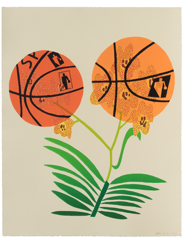Double Basketball Orchid (State I)