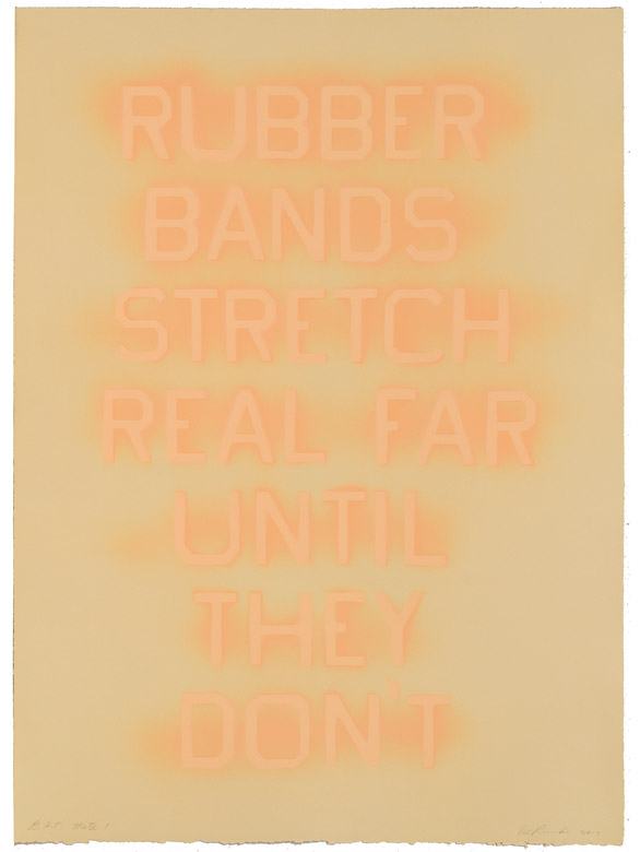 Rubber Bands (State I)